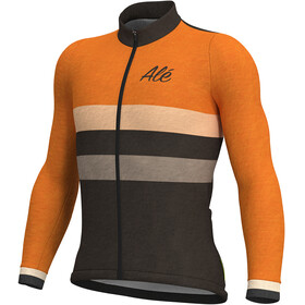 Alé Cycling Classic Vintage LS Jersey Men orange